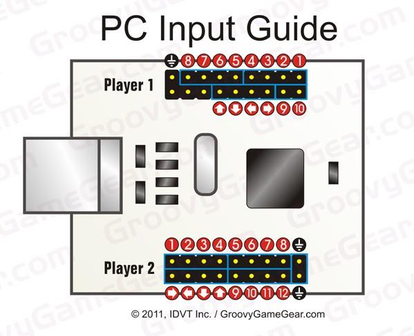 arcade control panel wiring diagram conectar el cableado del    panel    de    control     conectar el cableado del    panel    de    control