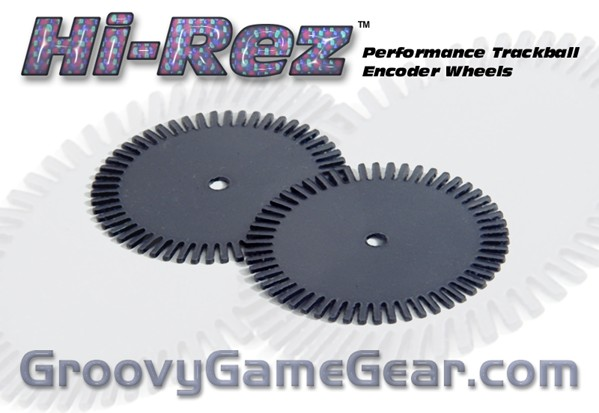 Hi-Rez Performance Trackball Encoder Wheels [HIREZHPTBE01
