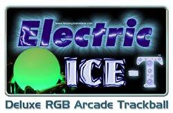 Electric ICE-T™ Deluxe RGB Arcade Trackball V2 5 [EIRGBTRACKBALL